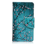 Apricot Tree Painted PU Phone Case for Sony Xperia Z5 Compact