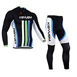 KEIYUEM®Others Unisex Long Sleeve Spring/Winter Cycling Clothing Suits Breathable / Insulated / Quick Dry /