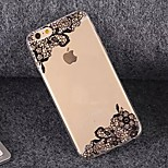Beautiful Lace TPU Soft Case for iPhone 6/6S