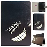 Laugh Teeth Pattern PU Leather Full Body Case with Stand And Card Slot for Kindle Fire HDX 8.9