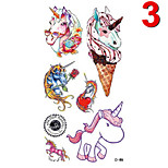 Temporary Tattoos Stickers Non Toxic Glitter Waterproof Multicolored Glitter 1 Package  Watch