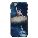 Ballet on the Moon Pattern  Hard Case for iPhone 6/6S
