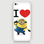 Love Pattern PC Phone Case Back Cover Case for iPhone5C