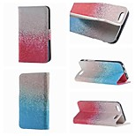 spécialement conçu à double face dessin colorié ou un motif PU cas flip en cuir pour iPhone 6 / 6s