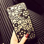 modello di pc fiore caso duro della copertura per iphone5 / iphone5s