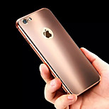 New Simple Glare Metal Frame Metal Back Phone Case for iPhone 6/6S (Assorted Colors)