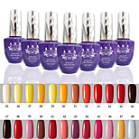 1 PCS ANA 192 Colors Gelpolish Nail Art Soak Off UV Nail Gel Polish 15ml 25-48