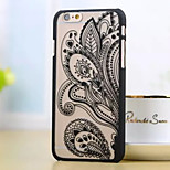 New Matte Embossed Palace Printing Transparent PC Material Phone Case for iPhone 5 /5S (Assorted Colors)
