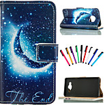 Coloured Drawing or Pattern Graphic Wallet Cases with Stand Full Body Cases for Samsung Galaxy S5/S5 mini/S6/S6 edge