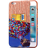 KARZEA™ Colorful Balloon Pattern PU Leather Back Cover Case with Card Holder for iPhone 6/6S(Assorted Colors)