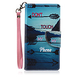 New Lanyard  Landscape Pattern PU Leather Material Phone Case for Huawei P8 Lite