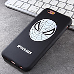 Super Popular Brands High-Grade Spider TPU Soft Phone Case for iPhone 6/6S