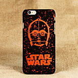 Star Wars Pattern Thin PC Frosted Feel Back Cover Case for iPhone 6/6S(Assorted Colors)