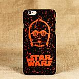star wars modello pc sottile glassata sentire il caso della copertura di iphone 6 / 6s (colori assortiti)