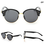 Women 's Mirrored / 100% UV400 Oval Sunglasses