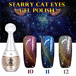 1PCS KOUYI Starry Cat Eyes Color Gel 12ml 12Colors Long Lasting Nail Polish 10-12