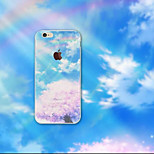 The Empire State Building Scenery Enchanting Beach Ultrathin Soft Shell TPU for iPhone 6 Plus/6S Plus(Assorted Colors)