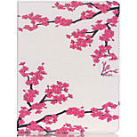 Beautiful Tree Pattern PU Leather Case with Stand and Card Holder for iPad Air