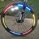 Luces para bicicleta , Bandas reflectantes - 1 Modo other Lumens Fácil de llevar Otros x Reflective Otros Ciclismo/BicicletaAzul / Verde