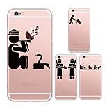 maycari®magic Indiens arrière TPU Affaire souple transparent pour iPhone5 / iphone5s (couleurs assorties)