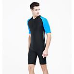 SBART Summer Anti-uv Short Sleeve Nylon Men Surfing Rashguard Swimming Suit Multi-colors
