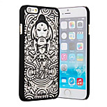 The New Matte Embossed Pattern Printing Buddha Transparent PC Material Phone Case  for iPhone 6 / 6S (Assorted Colors)