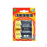 baterías Nanfu 1.5v hogar 2pis