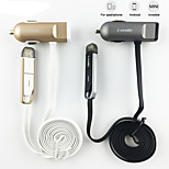 i-SMILE CHA1002 2015 New Product Glim Mini Universal High-speed Car Charger for iPhone and Micro USB
