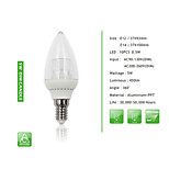 1 pcs  E14 / E12 5W 10PCS*0.5W SMD 450 LM Dimmable Candle Bulbs