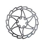 mi.Xim Mountain Folding Bike 6 inch Disc 160mm Six Holes Bicycle Disc Cycling Disc Brake Rotors with T25 Screws