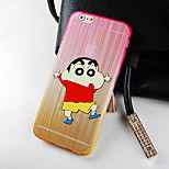 Chow Stars Cartoon Pattern Gradient Rramp Phone Case Back Cover Case for iPhone6/6S