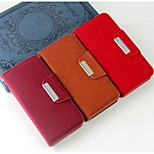Retro Fashion pattern Wallet Style PU Leather Full Body Case with Stand and Card Slot for iPhone 5/5S (Assorted Colors)