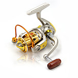 2000 3000 4000 Spinning Reels 5.2:1 10 Ball Bearings Exchangable Sea / Ice / Spinning / Freshwater / Bass Fishing Reels
