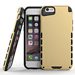 Plastic and Silicone Material Double Color Design for iPhone 5/5S (Assorted Colors)
