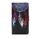 Printed Dream PU Leather Wallet Full Body Case with Stand for Sony Xperia M4 Aqua