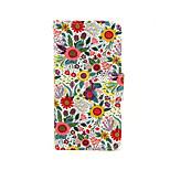 fiore colorato cuoio dell'unità di elaborazione caso tutto il corpo con il basamento per il iphone 5 / 5s