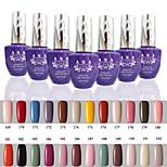 1 PCS ANA 192 Colors Gelpolish Nail Art Soak Off UV Nail Gel Polish 15ml 169-192