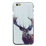 Horned Deer Pattern  Hard Case for iPhone 6/6S