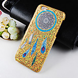 Dreamcatcher Pattern Glitter Hard Back Cover Case for iPhone6/6S