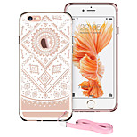 ESR®Totem Series Shock Absorbent TPU Corner Protection + Hard PC Back Protective Case for iPhone 6/ 6s -White Aztec