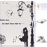 The Light Lover PU Leather Case with Stand and Card Holder for iPad Air