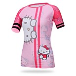 Women's Cycling Tops Short Sleeve Bike  Autumn Breathable / Ultraviolet Resistant / Sweat-wicking / Compression KT