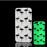 Flamingos Pattern Glow in the Dark Hard Plastic Back Cover for iPhone 5 for iPhone 5s Case