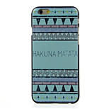 Hakaiva Mafafa  Pattern  Hard Case for iPhone 6/6S