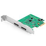 Shengwei® PEC-2026 PCI-E to ESATA3 Port Board MosChip MCS9922 Use for WIN98/Me/XP/Server2003/Vista/7/8/10