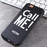 alto grado me TPU eléctrica caja del teléfono suave marcas muy populares para el iphone 6 / 6s
