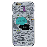 OKAY OKAY High Quality and Good Price Pattern  Hard Case for iPhone 6/6S