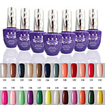 1 PCS ANA 192 Colors Gelpolish Nail Art Soak Off UV Nail Gel Polish 15ml 121-144
