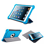 Removable Protective Soft TPU+Pc+Silicone Shockproof Wake Up Smart Cover Case w/ Stand for Ipad Mini4(Assorted Colors)