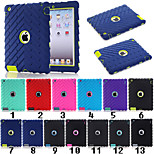 Special Design Novelty Silicone PC Back Case for iPad 4/3/2 (Assorted Colors)